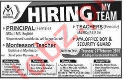 My School Principal Job Opportunities