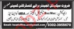 Mechanical Engineer Jobs 2019 in Islamabad