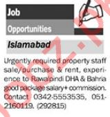 Daily The News Miscellaneous Staff Jobs 2019 in Islamabad