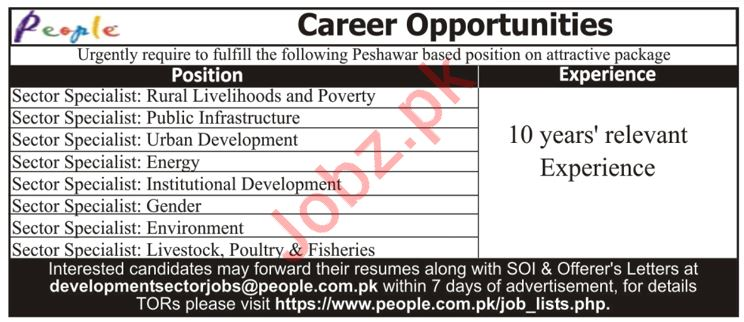 PEOPLE Professional Employers Private Limited Jobs 2019