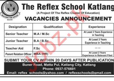 The Reflex School Katlang KPK Jobs 2019