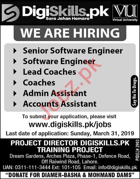 DigiSkills IT Staff Jobs 2019