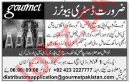 Gourmet Foods Distributor Job in Lahore