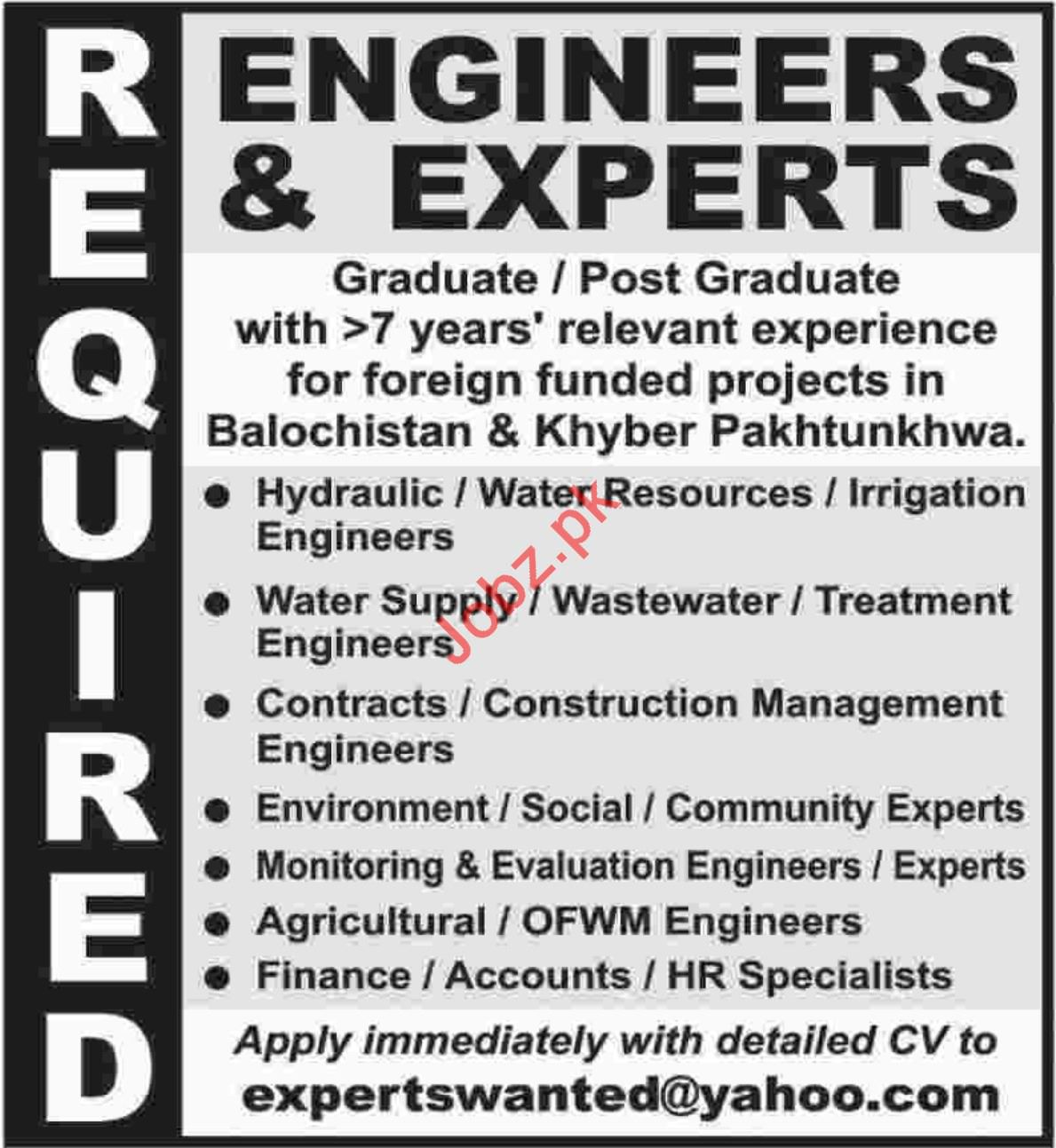 Engineering Staff jobs in Private Company