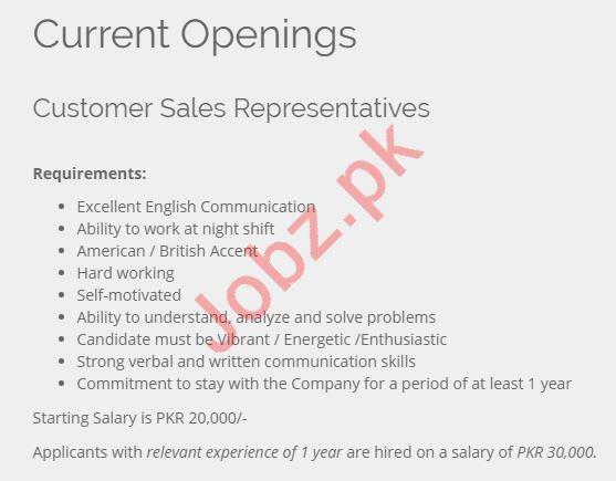 Vital BPO Services Jobs 2019 in Islamabad