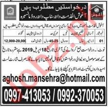 Aghosh Al Khidmat Driver Job in Mansehra