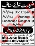 Abbasy & Associates Company Jobs 2019 in Rawalpindi