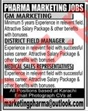 General Manager Marketing Jobs 2019 in Lahore