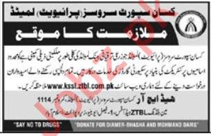 Kissan Support Services KSSL Islamabad Jobs 2019