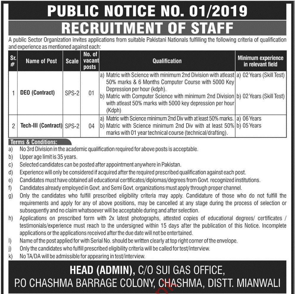 PAEC Pakistan Atomic Energy Commission Jobs For Mianwali
