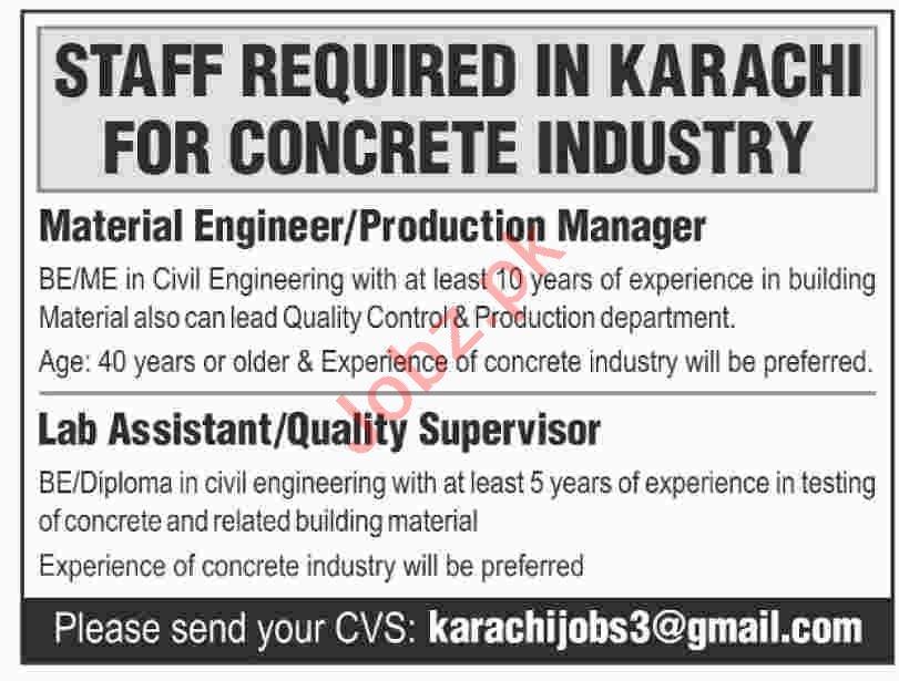 Concrete Industry Management Jobs 2019