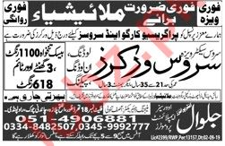 Service Workers Jobs 2019 For Malaysia