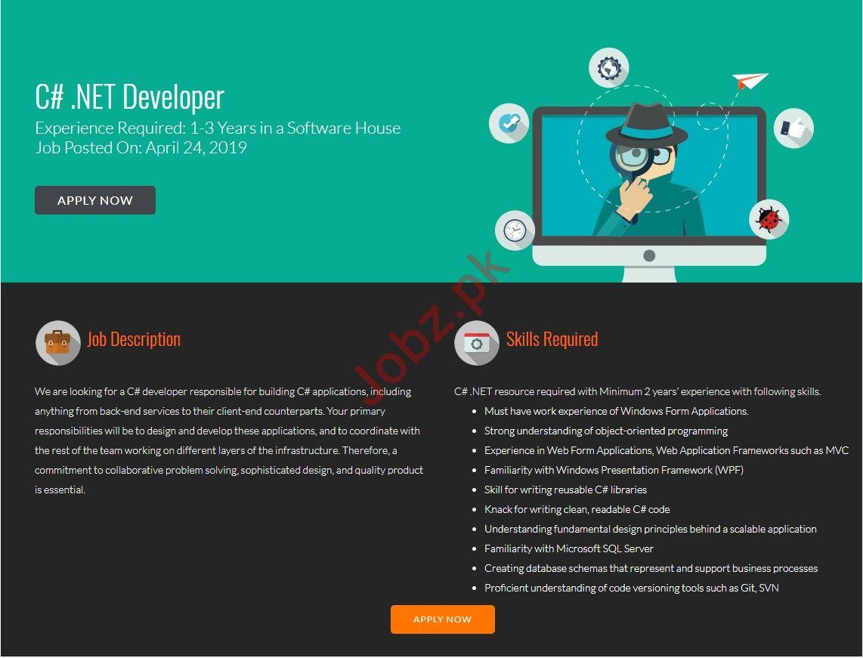 Dot Net Developer Jobs in FiveRivers Technologies