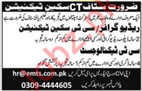 CT Scan Technician Jobs in Eastern Medical Services.