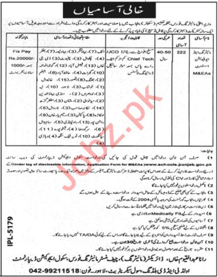 Education Department Monitoring & Evaluation Assistant Jobs