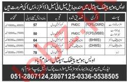 Awais Homeopathic Hospital Islamabad Jobs 2019