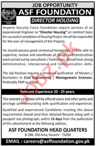 ASF Foundation Security Company Jobs 2019
