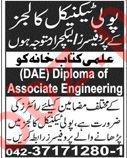 Ilmi Kitab Khana Lahore Jobs for Professors & Lecturers
