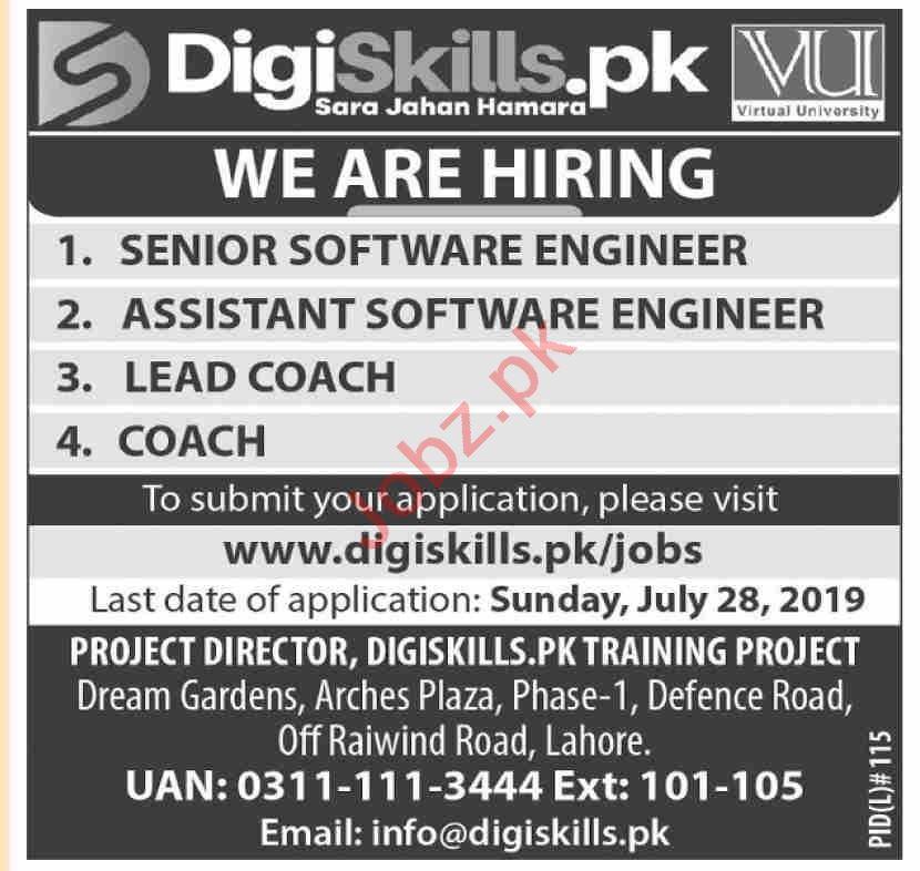 DigiSkills Training Project DSTP Jobs 2019