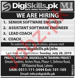 Software Engineer & Lead Coach Jobs 2019