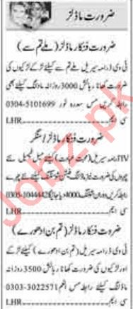 Acting Modeling Jobs in Islamabad