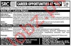 Sales man & Field Sales Officer Job in Lahore
