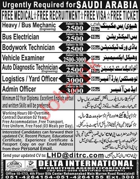 Bus Mechanic & Bus Electrician Jobs 2019