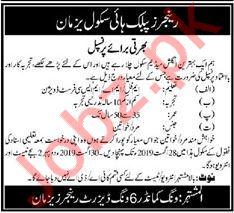 Rangers Public School Job For Principal in Multan