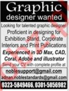 Graphic Designer Jobs 2019 in Islamabad