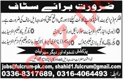 Fulcrum Private Limited Jobs 2019 in Lahore