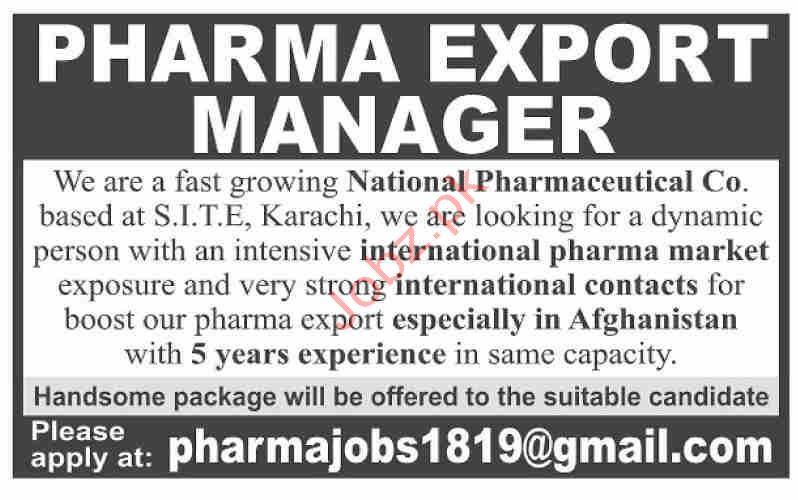 National Pharmaceutical Co Ltd Jobs