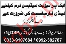 Medicine Firm Job For Pharmacist in Peshawar KPK