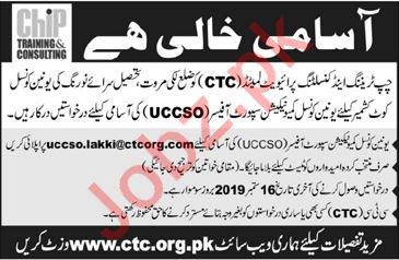 CHIP Training & Consulting Pvt Ltd NGO Jobs in Lakki Marwat