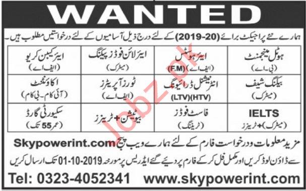 Sky Power International Jobs 2019 in Dubai UAE