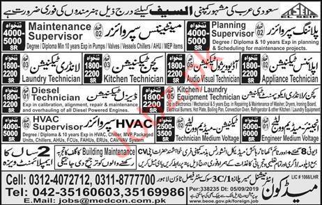 Al Saif Company Saudi Arabia Jobs
