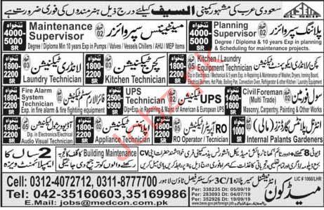 Al Saif Company Jobs iN Saudi Arabia