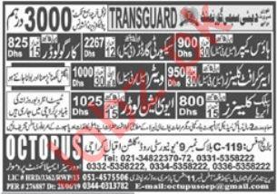 Transguard Semi Government Company Jobs 2019