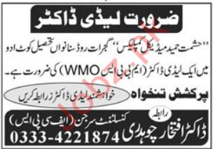 Hashmat Hameed Medical Complex Kot Adu Jobs