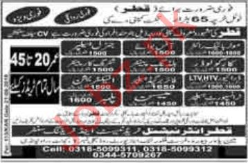 Building Painter & Cargo Loader Jobs 2019
