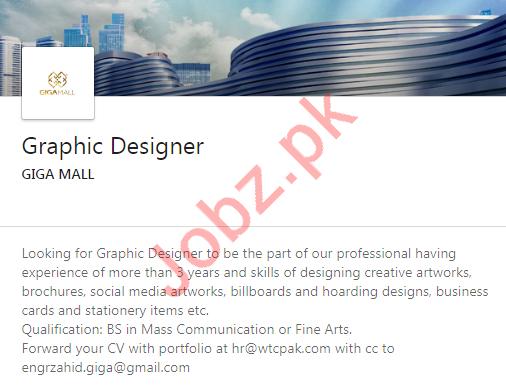 Graphic Designer Job in Lahore