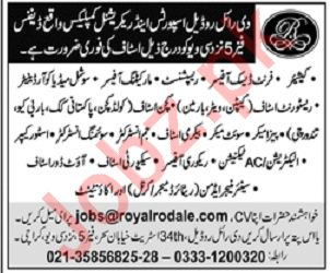 Cashier Front Desk Officer Receptionist Jobs in Karachi
