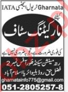 IATA Travel Agency Islamabad Jobs for Marketing Staff