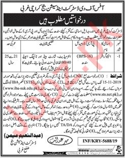 District & Session Judge Office Karachi Jobs 2019