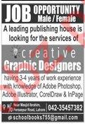 Graphic Designer Jobs 2019 in Lahore