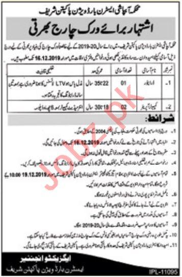 Eastern Bar Division Pakpattan Jobs for Computer Operator
