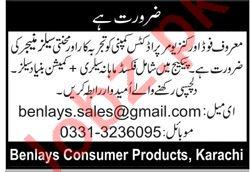Sales Manager Job 2019 in Karachi