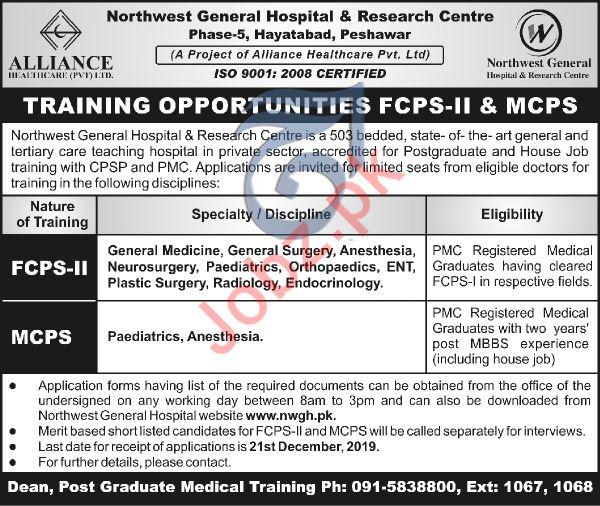 Alliance Healthcare Pvt Ltd Jobs 2019 In Peshawar KPK