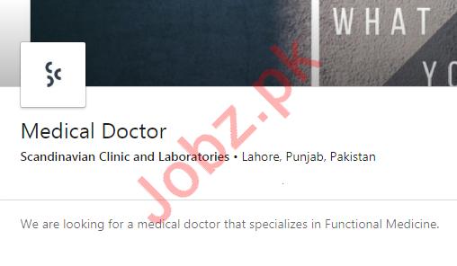 Medical Doctor Jobs in Scandinavian Clinicl & Laboratories