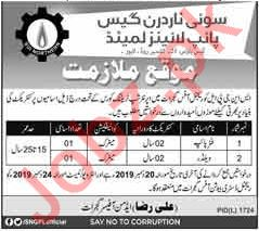 Sui Northern Gas Pipelines Limited SNGPL Jobs in Gujrat