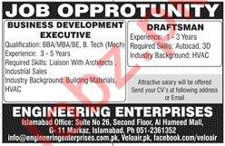 Engineering Enterprises Islamabad 2019 for Draftsman